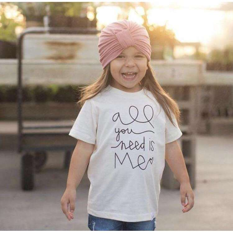 "Organic ""All You Need Is Me"" Tee. Tenth & Pine"