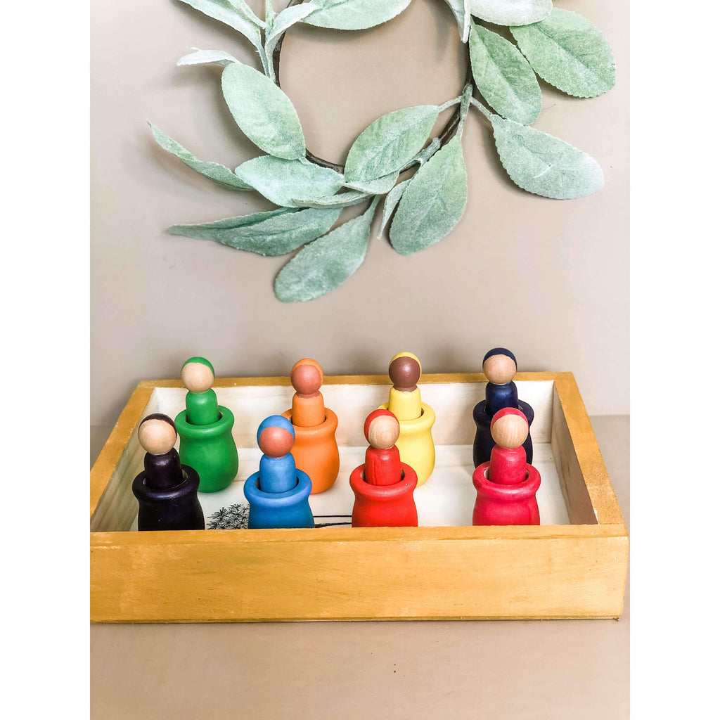 Peg Doll Tray - The Dashing Squad