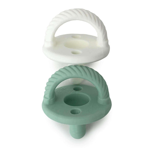 Sweetie Soother Pacifiers – 2 Pack (Braid)