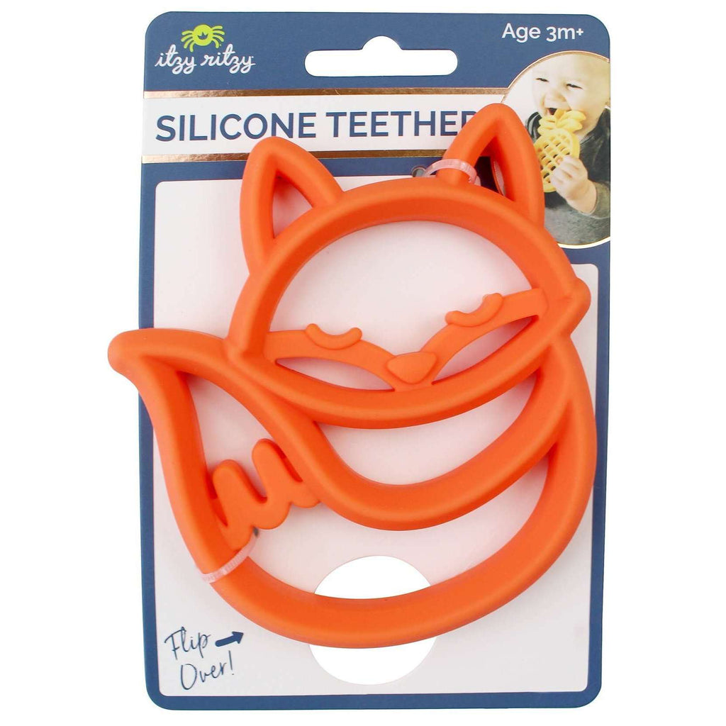 Fox Silicone Teether - The Dashing Squad
