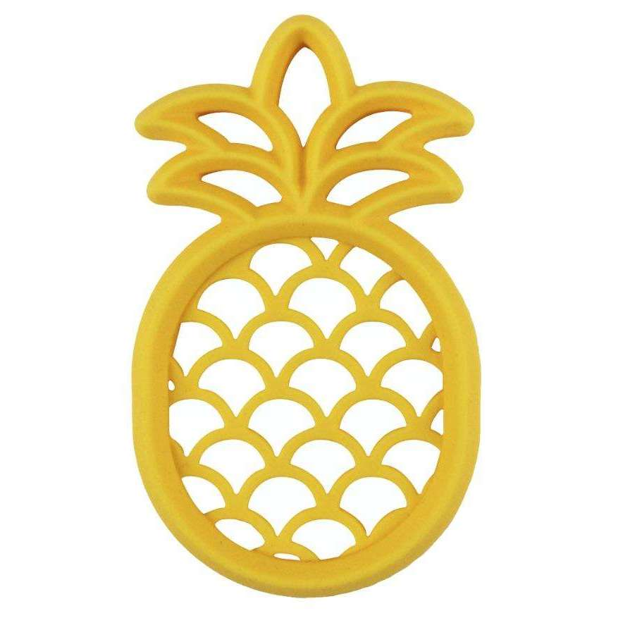 Pineapple Silicone Teether - The Dashing Squad