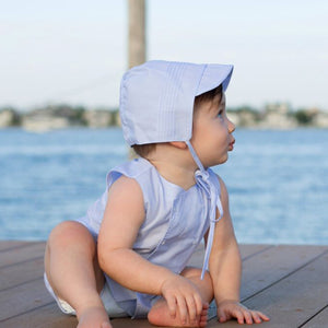 Boys Pintucked Bonnet