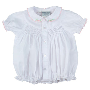 Preemie Smocked Scallop Bubble