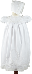 Girls Lacy Yoke Special Occasion Set