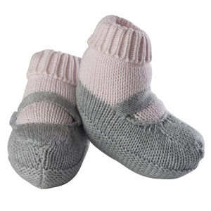 Girls Knit Sock Booties