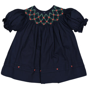 Navy Bishop Dress