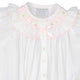 Ribbon Ruffle Smocked Take Me Home Gown with Hat