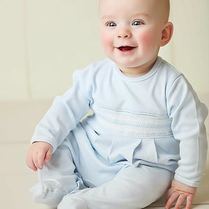 Smocked Diamond Romper