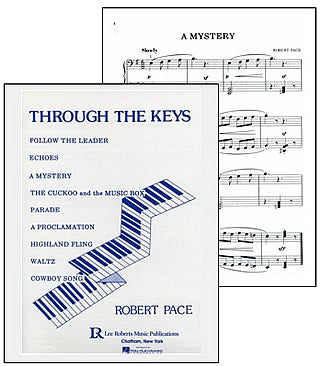 A Mystery - From Through the Keys Level 1 Piano Solos