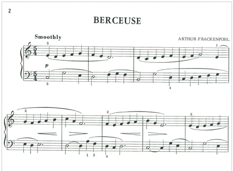 Berceuse By Arthur Frackenpohl - Sample