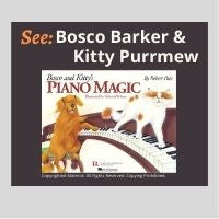 Bosco and Kitty's Piano Magic - Creative Story-Book Adventure