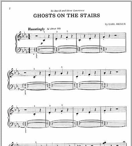 Ghosts On the Stairs - Sample