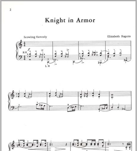 Knight In Armor By Elizabeth Rogers - Pace Recital Series