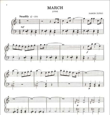 March By Ramon Zupko - Pace Recital Series