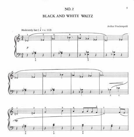 Three Waltzes In Black and White By Arthur Frackenpohl