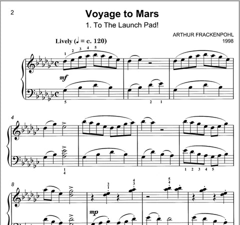 Voyage To Mars By Arthur Frackenpohl - Sample Page