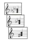 Sample Diminished Triad Flashcards - Treble Clef
