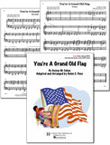 YOU'RE A GRAND OLD FLAG  - Easy Piano Duet