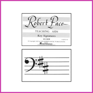 Robert Pace Key Signature Flashcards