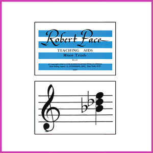 Robert Pace - Minor Triad (Chord) Flashcards - Sample