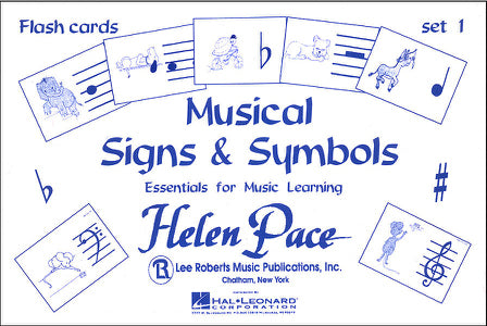 Musical Signs & Symbols Flashcards - Set 1
