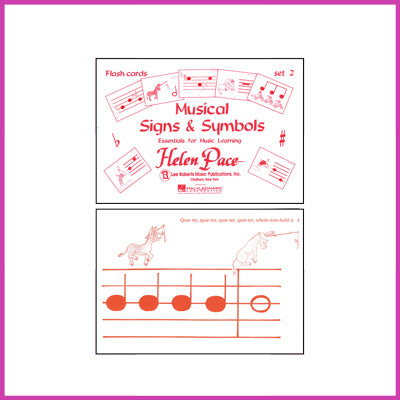 Musical Signs and Symbols Flashcards - Set 2