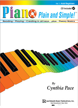 Adult Beginners Piano Plain and Simple_C_Pace