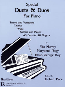 Special Duets And Duos - Pace Piano Series