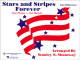STARS & STRIPES FOREVER - Trio, Six Hands