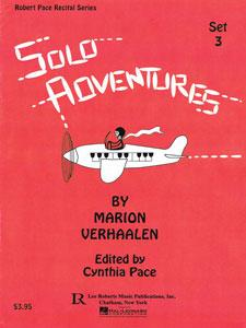 Solo Adventures Set 3 - Piano Solos By Marion Verhaalen