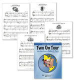Two On Tour Book 1 - Piano Duets - Sample