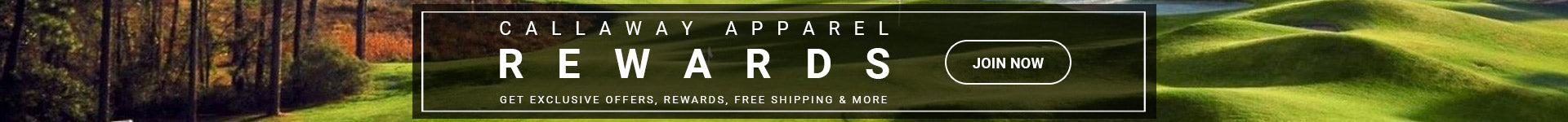Callaway Apparel Rewards