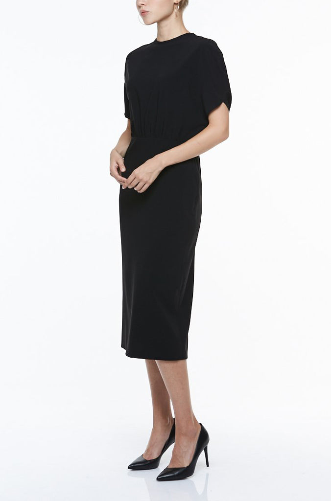 BLOUSON & PENCIL SKIRT DRESS