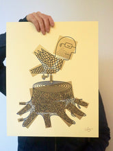 Afbeelding in Gallery-weergave laden, Screenprint, Birdman