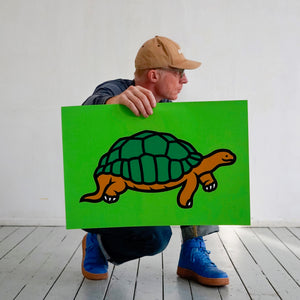 Screenprint, Turtle