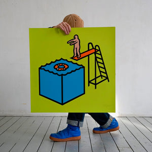Screenprint, The too easy dive