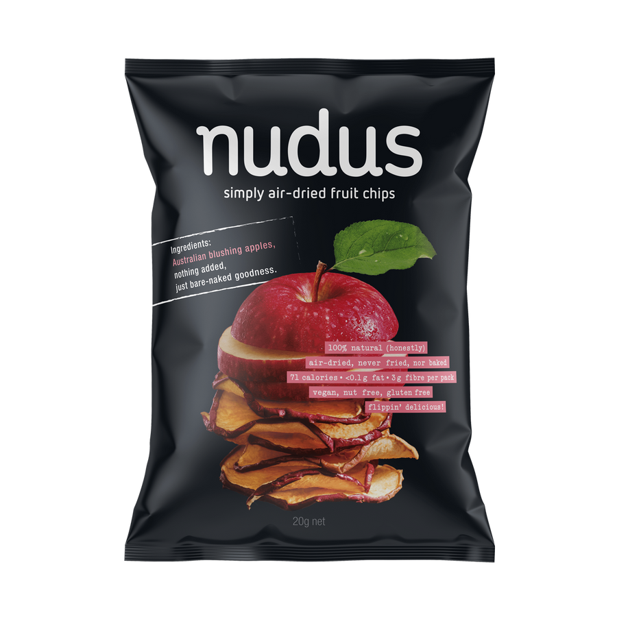 apple fruit chips - 12 bags ($2.75 / bag)
