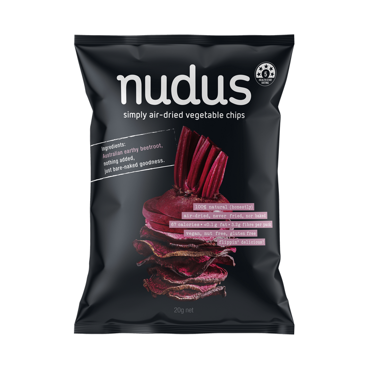 beetroot vegetable chips ($2.75 / bag)