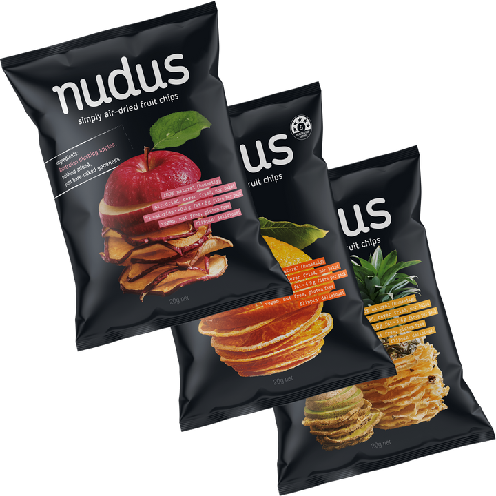 fruit chips box - 12 bags ($2.75 / bag)
