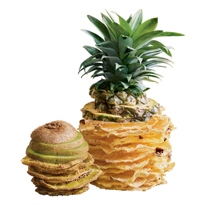 kiwi & pineapple fruit chips - 12 bags ($2.75 / bag)