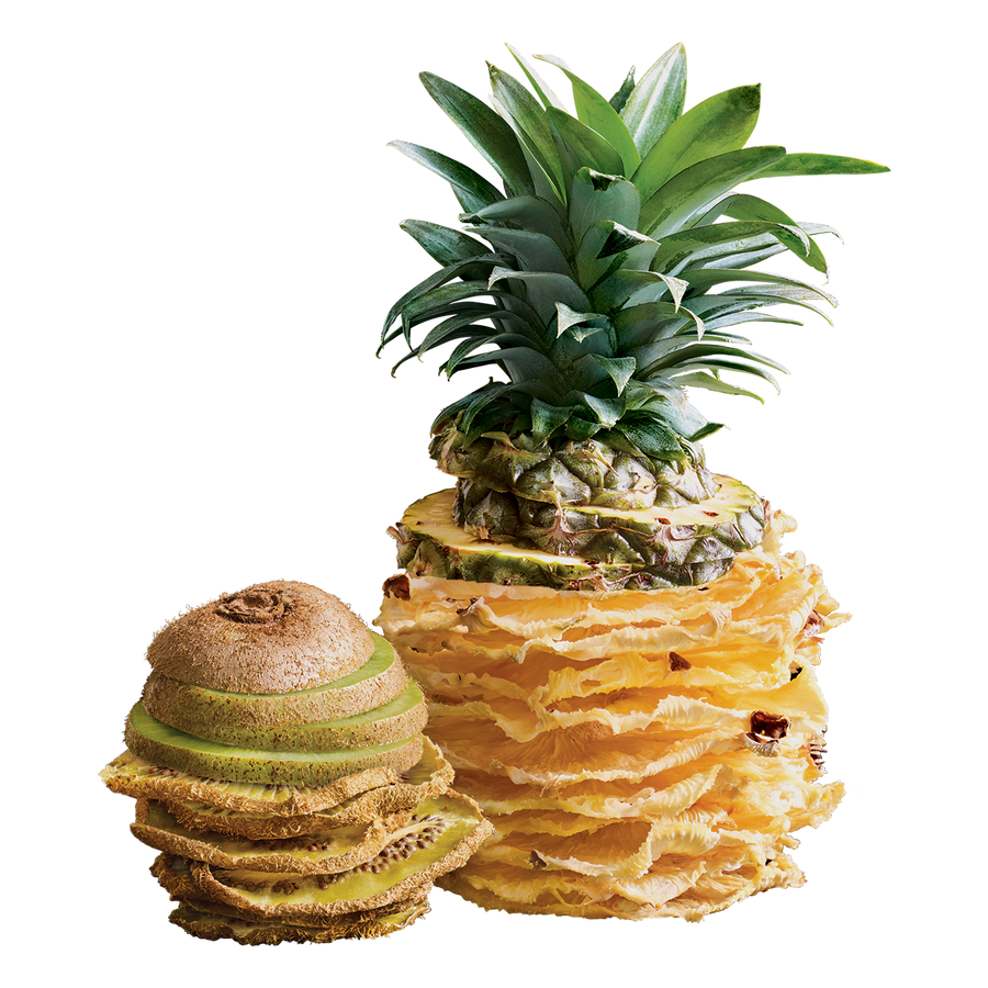 kiwi & pineapple fruit chips ($2.75 / bag)