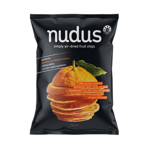 orange fruit chips ($4 / bag)