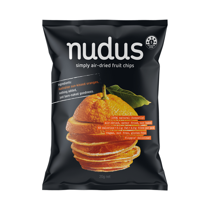 orange fruit chips - 12 bags ($2.75 / bag)
