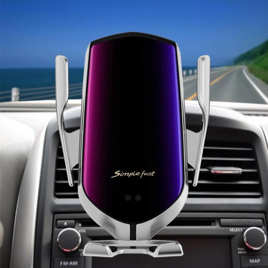 Modzify Wireless Automatic Car Phone Holder And Charger