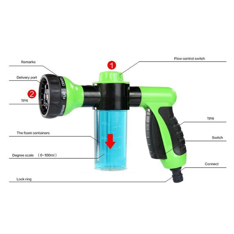 Twister Soap Sprayer (Connects To Your Garden Hose)