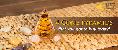 4 Cone pyramids that you got to buy today!