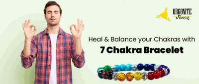 Heal and Balance your Chakras with 7 Chakra Bracelet