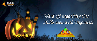 Ward off negativity this Halloween with Orgonites!