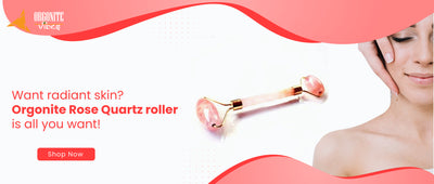 Want radiant skin? Orgonite Rose-Quartz roller is all you want!
