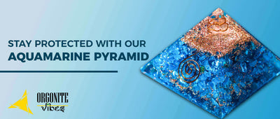 Stay Protected with our Aquamarine Pyramid